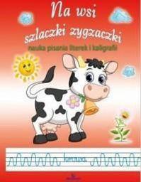 Na wsi. Szlaczki i zygzaczki. Nauka pisania - 153519