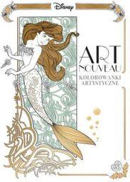 Art nouveau. Kolorowanki artystyczne - 218834