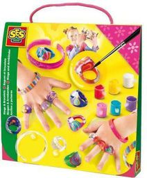 SES Tęczowe pierścionki i bransoletki - 238168