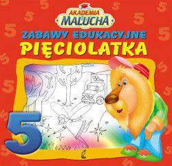 Akademia malucha - Zabawy edukacyjne pięciolatka - 120278
