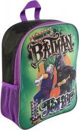 Sambro Plecak Lego Batman vs Joker czarno-zielono-fioletowy (LEG-BJ-8039)