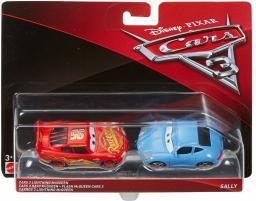 Mattel CARS 3 Dwupak Lightning McQueen & Sally Die-Cast Vehicle (GXP-588954)