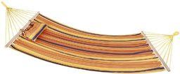 Spokey Hamak Bigrest 120x200cm pomarańczowo-żółto-fioletowy (831335)