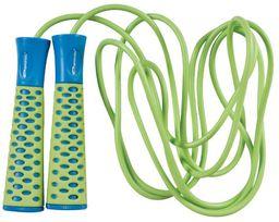 Spokey Skakanka Candy Rope zielono-niebieski (838540)