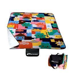 Spokey Koc piknikowy Picnic Toddler wielokolorowy 130x170cm (837156)