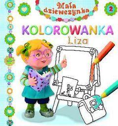 Mała dziewczynka kolorowanka - Liza - 106076