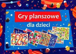Literat 7 gier planszowych dla dzieci - 202696