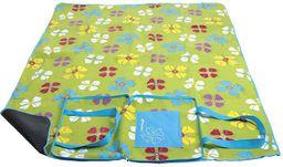 Spokey Spokey PICNIC FLOWERS - Koc piknikowy; 150x180 cm - 832818