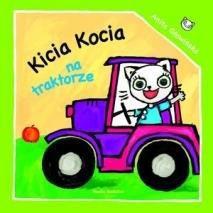 Kicia Kocia na traktorze