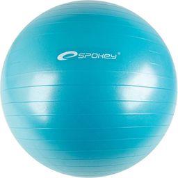 Spokey Piłka Gimnastyczna Anti-Burst 55cm Fitball II Turkusowy (838336)