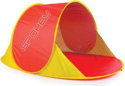 Spokey Namiot plażowy Pop Up 2 seconds Nimbus czerwono-żółty r. uniwersalny (839625)