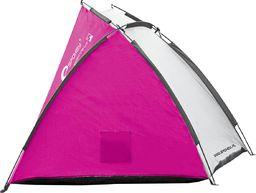 Spokey Namiot plażowy Cloud II 220x120x95cm fioletowy (835707)
