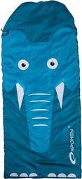 Spokey Śpiwór dla dzieci SleepyZOO niebieski 140x60cm (837196)