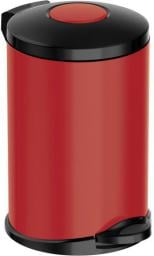 Kosz na śmieci Meliconi Opera na pedał 14L czerwony (14015916206BA)