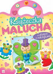 Aksjomat Książeczka malucha. Zabawa z naklejkami (231065)