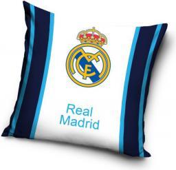 Carbotex Poszewka bawełniana 40x40 Real Madrid Biało-Granat. (RM8019)