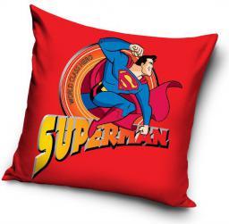 CARBOTEX Poduszka bawełniana 40x40 Superman (SUP8003)