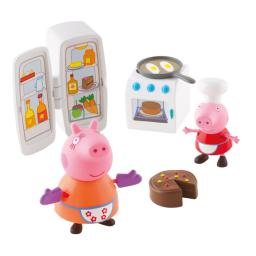 Tm Toys Świnka Peppa Zestaw Kuchnia +  figurki Little Characters (6148)
