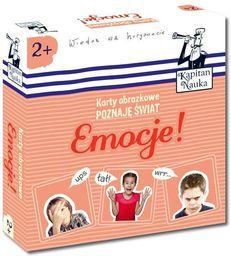Edgard Karty obrazkowe Poznaję świat Emocje