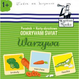 Edgard Odkrywam świat Warzywa. Poradnik + karty obrazkowe - 226438