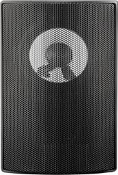 Qoltec Dwudrożny głośnik naścienny RMS 10W czarny 56511