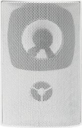 Qoltec Dwudrożny głośnik naścienny RMS 10W biały 56510