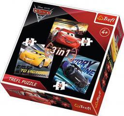 Trefl Puzzle 3w1 Legendy wyścigu Trefl