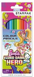 Starpak Kredki 12kol Barbie VG p12 - 379335