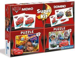 Clementoni 2x30 Elementów Memo Domino Cars 3 - GXP-591659