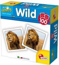 Lisciani I'm Genius Memoria 100 Wild - GXP-583605