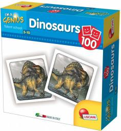 Lisciani I'm Genius Memoria 100 Dinozaurów