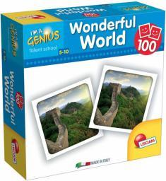 Lisciani I'm Genius Memoria 100 kart Świat