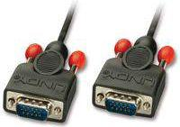 Kabel LINDY D-Sub (VGA) - D-Sub (VGA), 3, Czarny (31442)