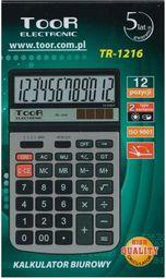 Kalkulator Toor Electronic Kalkulator 12-pozycyjny TR-1216 - WIKR-0984659