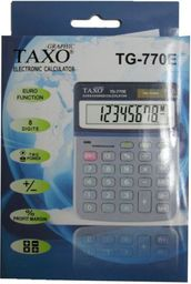 Kalkulator Titanum Kalkulator Taxo TG-770E grafitowy