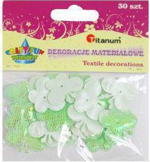 Titanum Motyle materiałowe zielone (WIKR-959866)
