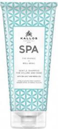 Kallos SPA GENTLE SHAMPOO Szampon na objetość i połysk 200 ml