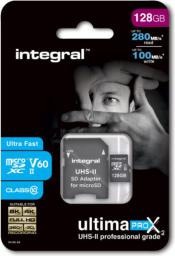 Karta MicroSD Integral microSDXC 128GB (INMSDX128G-280/100U2)