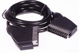 Kabel Libox SCART - SCART, 1.5, Czarny (LB0073)