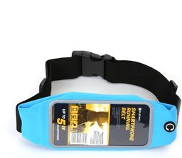 Platinet PAS DO BIEGANIA Z OKNEM NA SMARTPHONE / WAIST BAG WITH SMARPTHONE WINDOW BLUE