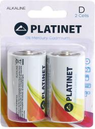 Platinet Bateria Pro D / R20 2szt.