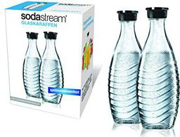 Sodastream Crystal Soda Maker DuoPack Glass (1047200490)