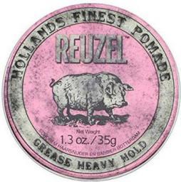 Reuzel Grease Heavy Hold Pomade pomada do stylizacji włosów 35g