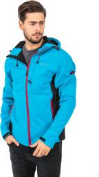 Hi-tec Kurtka softshell Roner Vallarta Blue/Black/Chinese Red r. XXL