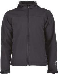 Hi-tec Męski Softshell Karry Black/Moon Grey r. L