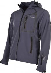 Hi-tec Kurtka softshell męska Nils Midnight Grey/Black r. L