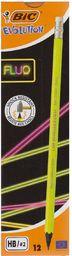 Bic Ołówek Evolution Fluo z gumką HB - WIKR-1051977