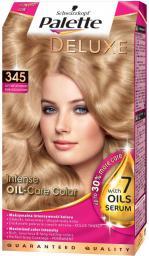 Schwarzkopf PALETTE Deluxe 345 złoty świetlisty miodowy blond