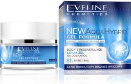 Eveline New Aqua Hybrid Gel Formula Serum-żel regenerujące na dobranoc  50ml