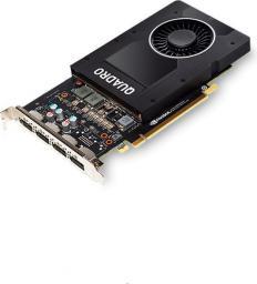 Karta graficzna HP NVIDIA Quadro P2000, 5GB GDDR5 (160 Bit), 4xDisplayPort (1ME41AA)